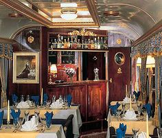 Majestic Imperator - Elisabeth Salon by Train Chartering & Private Rail Cars, via Flickr