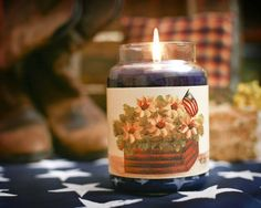 Large Crate With Sunflower Candle Wrap #16  www.thisilldocreations.com