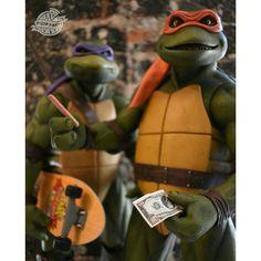 Mini Turtles, Ninja Turtles Art, Teenage Mutant Ninja Turtles, Ninja Turtle Drawing, Serie Tv, Toys Photography, 4 Life, Tmnt, Skateboarding