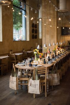 a daily something: An Autumn Table for Le Pain Quotidien x FEED Supper