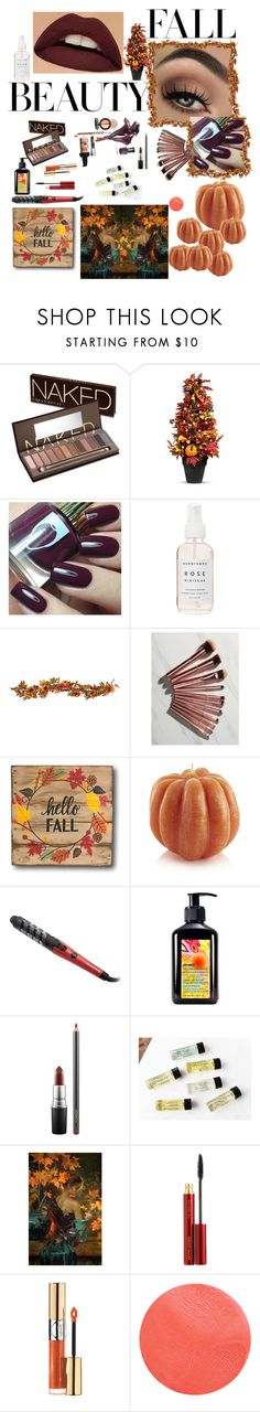 """🍂"" by chantelle3798 ❤ liked on Polyvore featuring beauty, Urban Decay, Improvements, Herbivore, BHCosmetics, Crate and Barrel, Remington, amika, MAC Cosmetics and Kevyn Aucoin"