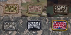 Team America Patch Mil-Spec Monkey Morale Patches