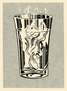 Roy Lichtenstein Alka Seltzer (1966)