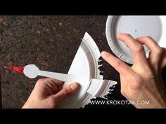 PAPER PLATE STORK - YouTube