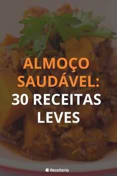 Healthy Dinner Recipes, Diet Recipes, Vegan Recipes, Cooking Recipes, Light Diet, Portuguese Recipes, Healthy Life, Good Food, Food And Drink