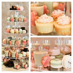Feeling sweet! Dessert table