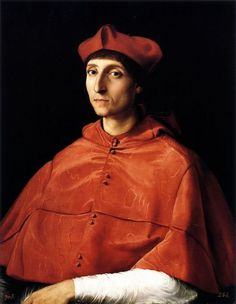 The Portrait of a Cardinal is a painting by the Italian Renaissance artist Raphael. It is housed in the Prado Museum in Madrid. It depicts an unidentified cardinal in the court of Pope Julius II. The portrait was acquired by Charles IV of Spain when he was still a prince, and the picture was attributed to Antonio Moro, due to its technique, considered unusual in Raphael. http://m.flickr.com/#/photos/gandalfsgallery/7751612644/