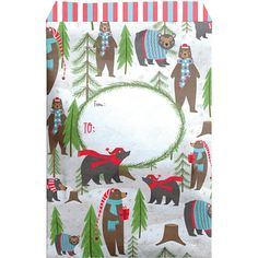 Small Christmas Printed Padded Mailing Envelopes, Winter Bear (12 Pcs) – Present Paper Mailing Envelopes, Biodegradable Products, Presents, Gift Wrapping, Kids Rugs, Bear, Printed, Paper, Christmas