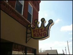 Pizza King, Kings Crown, Neon Signs