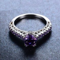 June Birthstone Ring – GenieMania Gothic Engagement Ring, June Birth Stone, Birthstone Jewelry, Real People, Birthstones, Black Gold, Take That, Wedding Rings, Stuff To Buy