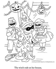 paw patrol party halloween coloring pages printable and coloring book to print for free. Find more coloring pages online for kids and adults of paw patrol party halloween coloring pages to print. Planet Coloring Pages, Fall Coloring Pages, Christmas Coloring Pages, Animal Coloring Pages, Adult Coloring Pages, Coloring Books, Kids Coloring, Halloween Vintage, Halloween Doodle