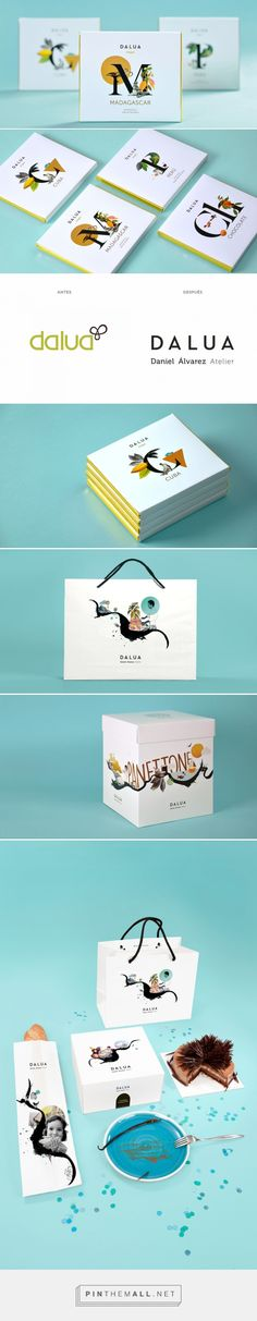 Dalúa chocolate by Smaill. Source: The Dieline. Pin curated by #SFields99 #packaging #design