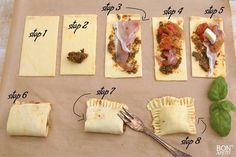 Lekker smullen van de super simpel te bereiden Italiaanse bladerdeeg snacks, om je vingers bij af te likken! Zelf maken? Lees verder op BonApetit!