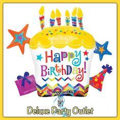 Birthday balloons SuperShape