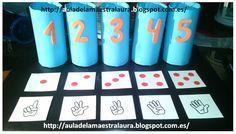 Seguimos con las actividades ABN en 3 años, en esta ocasión os quiero mostrar otro de nuestros juegos de clase: los tubos numéricos. ...
