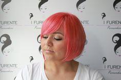 Una big babool 😍 Taglio: carrè asimmetrico Colore: colour trip Bed Head Tigi  Hairstyle: i Furente parrucchieri from Napoli