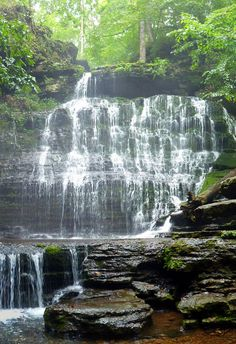 Machine Falls at Short Springs Tullahoma, Tn. Go there all the time, my kids love it! Tennessee Waterfalls, Camping In Tennessee, Tennessee Vacation, Places To Travel, Places To See, Hiking Spots, Beautiful Waterfalls, Adventure Is Out There, Vacation Spots