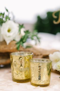 Elegant and great for vintage weddings! These votive tealight candle holders great table top centerpieces decorations