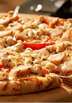 Chicken-Feta Pizza – Top a ready-to-use pizza crust with chicken breast and crumbled feta cheese for an exceptionally hearty pie with the flavor of Greece.