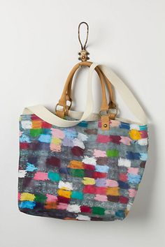 Colorcycle Tote #anthropologie