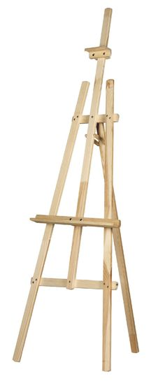STUDIO EASEL 6ft (1800MM HIGH) ARTIST ART CRAFT DISPLAY - PINE WOOD Wooden in Crafts,Painting, Drawing & Art,Painting Supplies | eBay