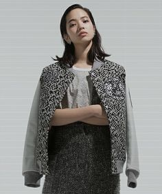 NOISE WAPPEN STUDIUM JUMPER -UNISEX-(スタジャン)|ANREALAGE(アンリアレイジ)のファッション通販 - ZOZOTOWN