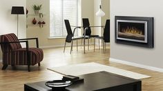The Dimplex 40 in. Wall Mount Electric Fireplace in Dark Grey features modern style with black finish. It is an attractive choice to wall-mount in any room of your home. Dimplex Electric Fireplace, Best Electric Fireplace, Electric Fireplace Heater, Wall Mount Electric Fireplace, Wall Mounted Fireplace, Bedroom Fireplace, Modern Fireplace, Fireplace Ideas, Room Additions
