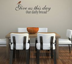 Love the dinning table