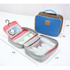 #GetSetGo Iconic Travel Toiletries Bag (http://www.getsetgo.sg/iconic-travel-toiletries-bag/) #travelessentials #toiletriesbag #travel #travelstore