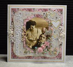 Lenas kort: Vintage bryllup Doodles, Frame, Blog, Cards, Vintage, Home Decor, Pink, Picture Frame, Decoration Home