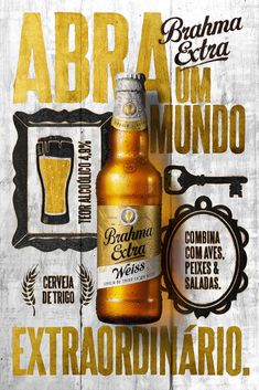 Creative Poster, Africa, Brahma, and Extra image ideas & inspiration on Designspiration Beer Packaging, Brand Packaging, Packaging Design, Graphic Design Layouts, Graphic Design Inspiration, Web Design, Daily Inspiration, Print Advertising, Advertising Campaign