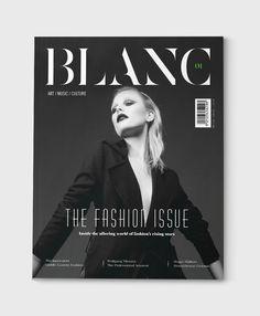 Blanc Magazine | Pitch on Behance