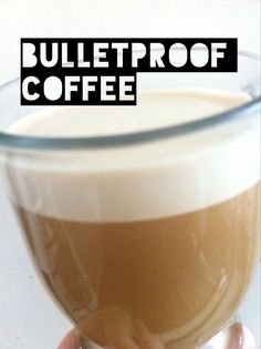 BULLET PROOF COFFEE- I'm sipping this right now AND holy cow! who would have thought to blend some butter, coconut oil and coffee together to get this deliciousness! Sounds crazy, but I think I'll have to give it a try when I can drink coffee again Ketogenic Recipes, Low Carb Recipes, Cooking Recipes, Healthy Recipes, Yummy Drinks, Healthy Drinks, Healthy Food, Bulletproof Coffee, Bulletproof Diet