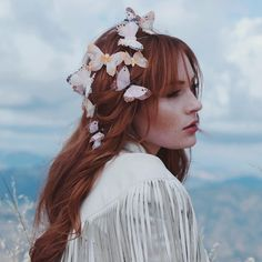 Se det här fotot av @aurorabraids på Instagram • 6,623 gilla-markeringar Butterfly Hair, Beautiful Fairies, Midsummer Nights Dream, Wild And Free, Beautiful Creatures, Redheads, Red Hair, Hair Makeup, Instagram Posts