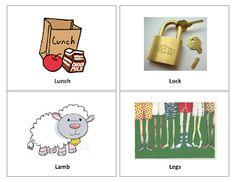 Ms. Lane's SLP Materials: Articulation: Initial /l/ Words