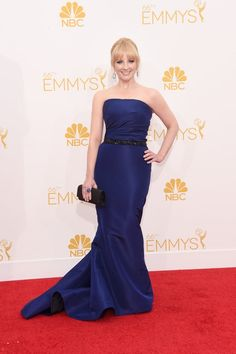 Pin for Later: The Small Screen's Hottest Stars on the Emmys Red Carpet! Melissa Rauch