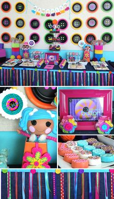 """This party is """"cute as as button."""" OMG Meesh, check this out! This is sooooo stinking cute!!!!"""