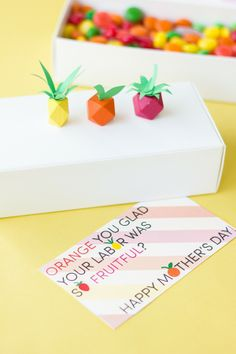 """""""Fruitful"""" Mother's Day Printables"""