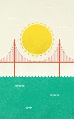 Golden Gate. Golden State.