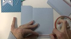 Stampin' Up! Mini Treat Bag Dies - video tutorial with tips and construction views.