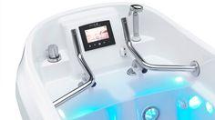 De AquaFit Easy, onze innovatieve design aquabike, volledig handsfree gebruik met gerichte massage. De belangrijkste voordelen van dit product: Perfect gerichte massage, dankzij de in hoogte verstelbare pedalen, waardoor het zadel niet hoeft te worden verplaatst en u altijd perfect gepositioneerd bent ten opzichte van de waterstralen Elektronische instellingen voor de trapweerstand op de handvatten …