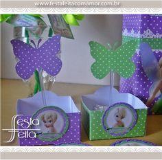 butterfly toppers www.festafeitacomamor.com.br  Paper goodies Papelaria para Festa da Tinkerbell (sininho) | Festa Feita! Papelaria personalizada para festas! Com Amor para você!                                                                                                                                                                                 Mais
