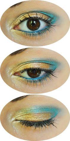 #makeup #me #girl #polishgirl #gold #blue #sigma #eyeshadowbase @sigma_beauty