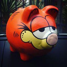 Imagen relacionada Penny Bank, Piggy Banks, Cute Piggies, This Little Piggy, Money Box, Decoupage, Projects To Try, Crafts, Diy