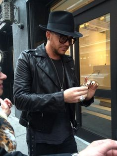 Adam in NYC.for Live Proud 2014
