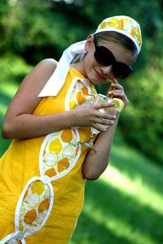lemon dress tutorial