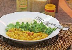 Indian Tarka Dal with Basmati Rice
