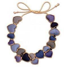 SOPHIA 203, Blues Love Necklace