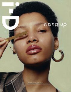 Lineisy Montero by Harley Weir for i-D Magazine Spring 2016 1