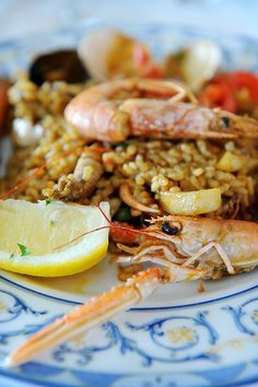 Paella de Marisco  Menorca  Spain